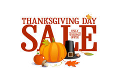 Thanksgiving Day Sale. Royalty Free Stock Photos