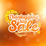 Thanksgiving Day sale. EPS 10 Stock Photography