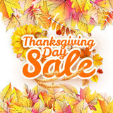 Thanksgiving Day sale. EPS 10 Stock Photo