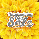 Thanksgiving Day sale. EPS 10 Stock Photos