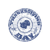 Thanksgiving day stamp Royalty Free Stock Photos