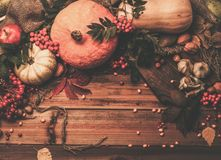 Thanksgiving day still life Stock Images