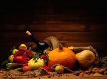 Thanksgiving day still life Stock Photo