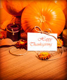 Thanksgiving day still life Royalty Free Stock Photo