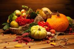 Thanksgiving day stilleven Stock Fotografie
