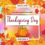 Thanksgiving Day_14 Royalty Free Stock Image