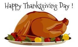 Thanksgiving day Turkey Stock Image