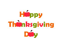 Thanksgiving Day. vector. flat Royalty Free Stock Images