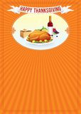 Thanksgiving Day. Vertical Background Template Royalty Free Stock Photography