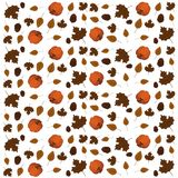 Thanksgiving day wallpaper pattern Royalty Free Stock Photos
