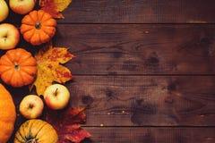 Thanksgiving dayachtergrond Royalty-vrije Stock Fotografie