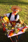 Thanksgiving dayfoto - zwaar gewas - Voorraadbeelden Stock Fotografie