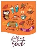 Thanksgiving daykaart Royalty-vrije Stock Fotografie