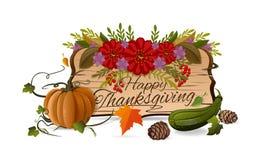 Thanksgiving dayontwerp Stock Afbeeldingen
