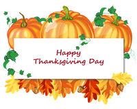 Thanksgiving dayontwerp Stock Foto's