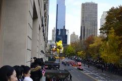 Thanksgiving dayparade 2016 - de Stad van New York Stock Afbeelding
