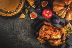 Thanksgiving dayvoedsel Stock Fotografie