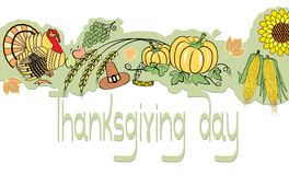 Thanksgiving decoration Royalty Free Stock Photography