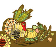 Thanksgiving decoration Stock Image