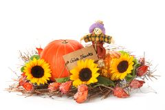 Thanksgiving decoration Royalty Free Stock Images