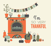Thanksgiving decoration Royalty Free Stock Photo