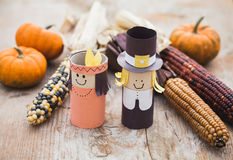 Thanksgiving decoration Stock Images