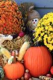 Thanksgiving Decoration - vertical orientation Royalty Free Stock Photos