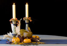 Thanksgiving Decorations - horizontal Royalty Free Stock Photography