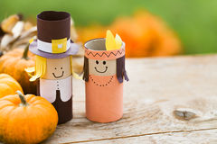 Thanksgiving decorations. Royalty Free Stock Images