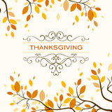 Thanksgiving Design stock illustration