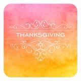Thanksgiving Design Royalty Free Stock Photo