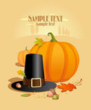 Thanksgiving Design template. Royalty Free Stock Photos