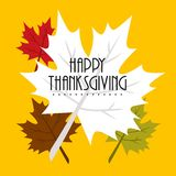 Thanksgiving Design- Thanksgivings Day Vector Art Royalty Free Stock Image