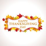 Thanksgiving Design- Thanksgivings Day Vector Art Stock Image