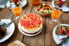 Thanksgiving dessert Royalty Free Stock Image