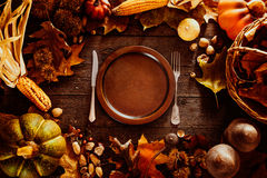 Free Thanksgiving Dinner Stock Photo - 60382480