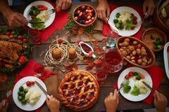 Thanksgiving dinner Royalty Free Stock Image