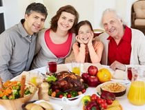 Thanksgiving dinner Stock Photos