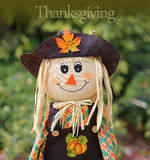 Thanksgiving doll Royalty Free Stock Image