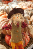 Thanksgiving Doll Scarecrow Stock Image