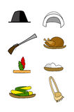 Thanksgiving Elements Stock Image