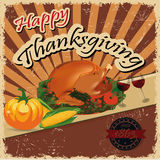 Thanksgiving, eps10 Stock Images
