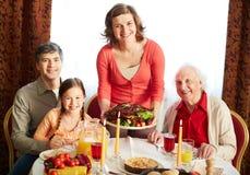 Thanksgiving evening Royalty Free Stock Image