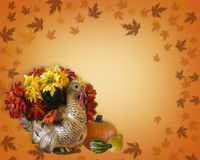 Thanksgiving Fall Autumn Border Stock Images