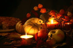 Thanksgiving Fall Harvest I Royalty Free Stock Photo