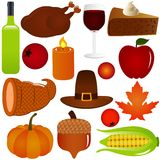 Thanksgiving / Fall season Vector Royalty Free Stock Image
