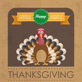 Thanksgiving Flyer Royalty Free Stock Photos