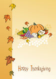 Thanksgiving foliage Royalty Free Stock Photos