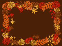 Thanksgiving Frame Design Royalty Free Stock Photos