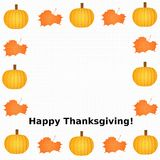 Thanksgiving Frame Royalty Free Stock Photos